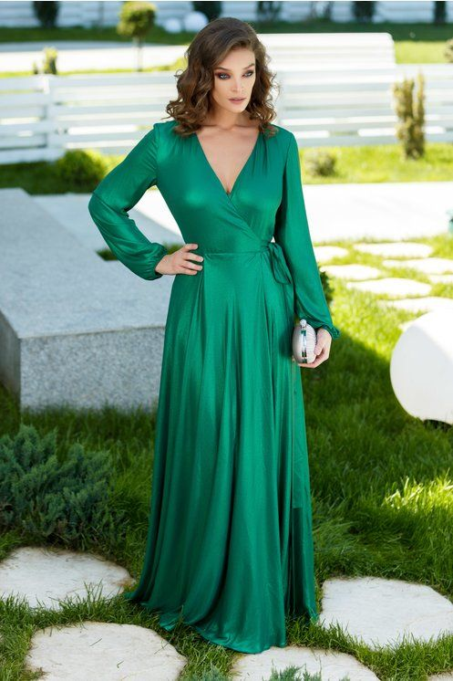 Rochie Verde Lunga De Seara Rochii De Seara Lungi Green Dresses