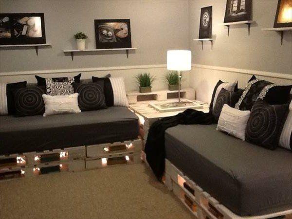 Sofa aus Paletten – eine perfekte Vollendung des I…