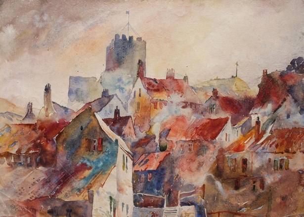 Watercolour by Group of Seven member Fred Varley.