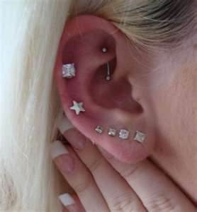 Image detail for -Multiple Ear Piercings