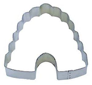 R & M Beehive Cookie Cutter - beehive and flower cookies or even cut fruit