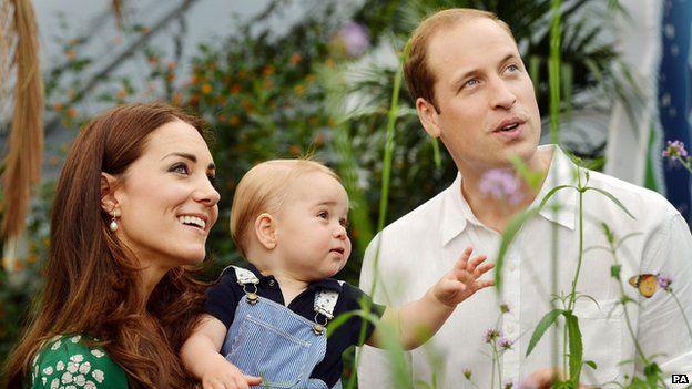 Hamarosan megszületik György herceg kistestvére!