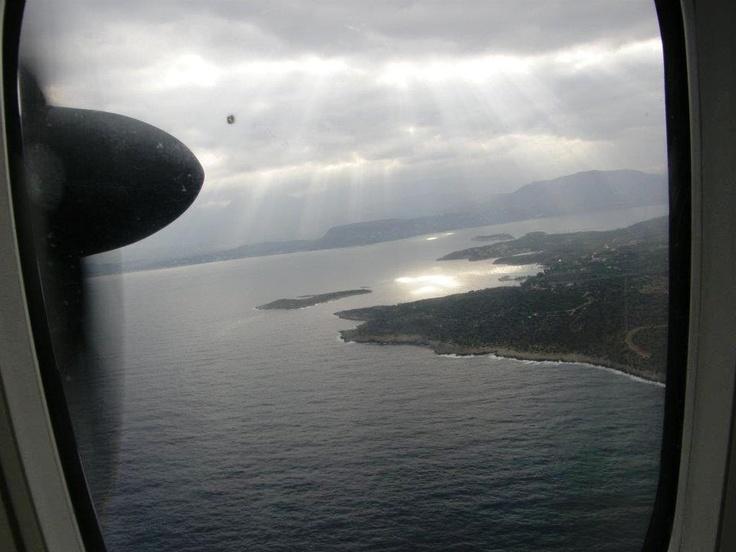 Photo by Eleftheria Fragioudaki, CHQ Airport (thank you!)