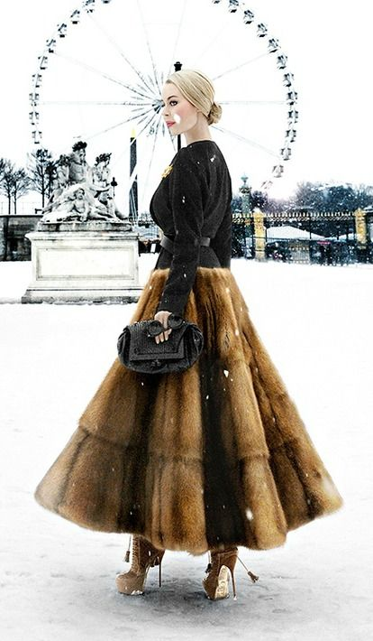 Winter Chic / Fashion Icon Ulyana Sergeenko