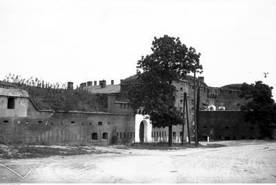 Więzienie przy ulicy Kamiennej w Krakowie.Data wydarzenia:1934-08