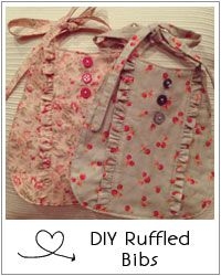 Ruffle Baby Bibs « Rain and Bows