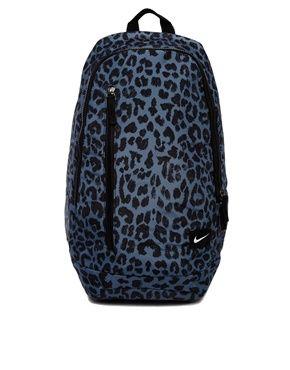 Nike Leopard Backpack - http://www.asos.com/Nike/Nike-Leopard-Backpack/Prod/pgeproduct.aspx?iid=3906552&cid=6992&sh=0&pge=1&pgesize=204&sort=-1&clr=Grey+print