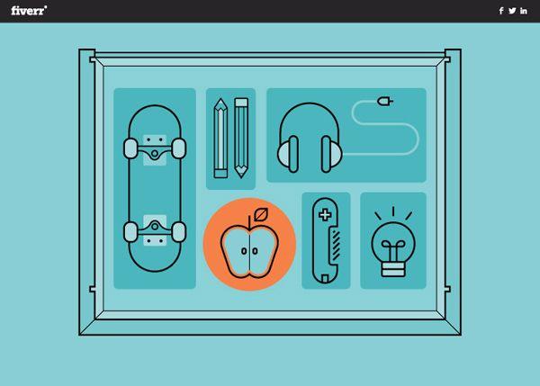 27 Fresh Interactive Web Design Examples - 17