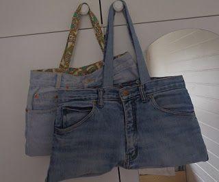 Džínové tašky/ Jeans bags