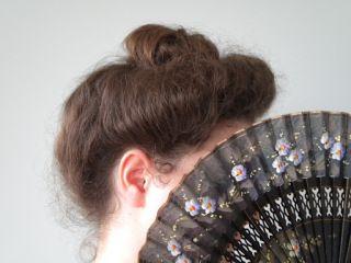 Tutorial: Edwardian Gibson Girl Hairstyle updo | locksofelegance