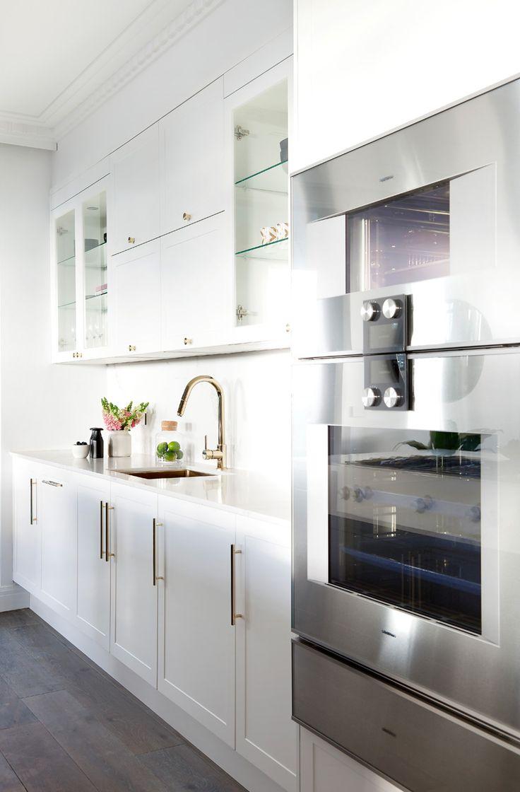 The Block 2016: Apartment Four - Julia & Sasha - Thermolaminated Somersby profile in Classic White Matt and Black Matt