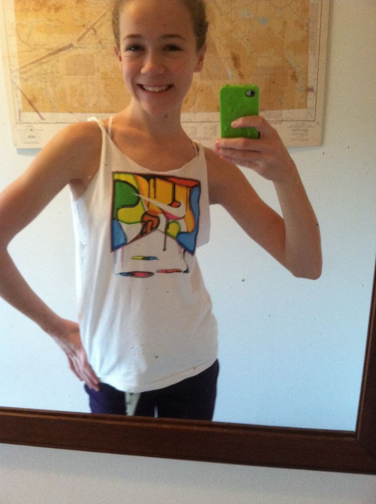 How to Make a No-Sew Tank Top