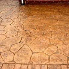 Random Stone Patio - Baschurch