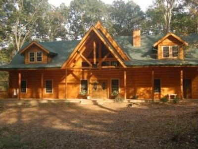 Campfire Creek Log Cabin In Brown County Indiana 4 Queen Beds, 2 Of Which  Are Suites.