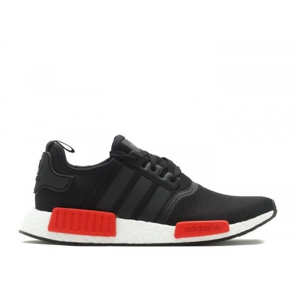 buy real authentic adidas nmd runner originals mens black red r1 pk