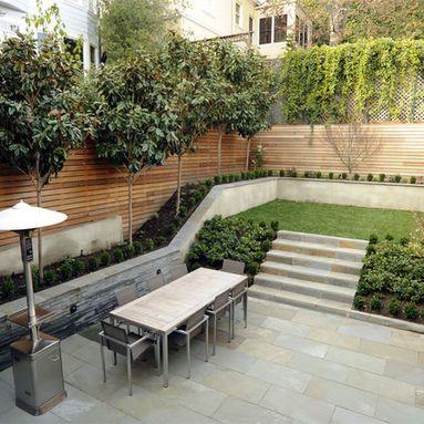 Split Level Garden Design Ideas, Pictures, Remodel and Decor                                                                                                                                                     More