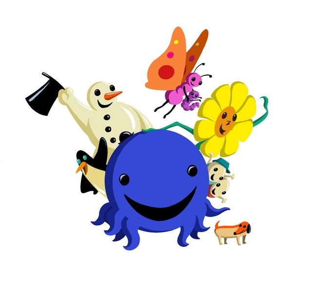 <3 the piano playin Octopus Oswald and his family. Used to watch this a lot as a kid