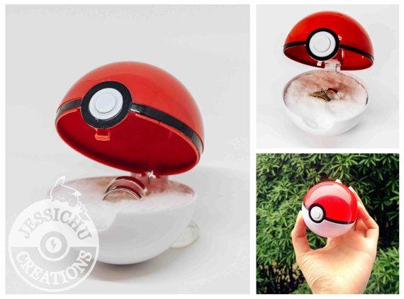 Pokemon Pokeball Ring Box I Choose You by JessichuCreations