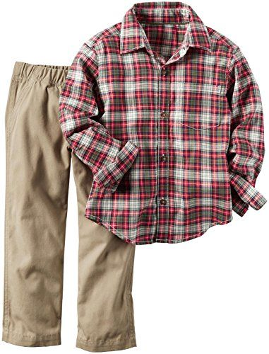 Carter's Baby Boys 2 Pc Playwear Sets, Plaid, 18M Carter's https://www.amazon.com/dp/B01J5507SU/ref=cm_sw_r_pi_dp_x_dFiqybWN8GBK1