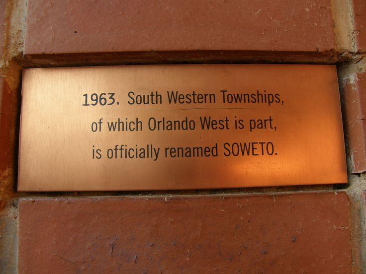 Soweto history. #Johannesburg #SouthAfrica