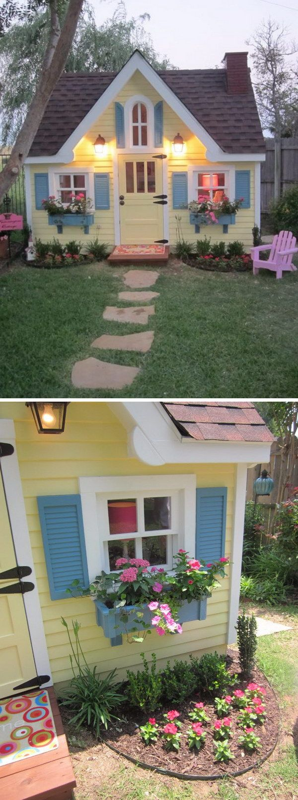 Best 25+ Outside playhouse ideas on Pinterest