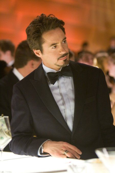 Robert Downey Jr. - I love all the Ironman movies, especially all the geeky and cool gadgets. I need to buy all the DVD's!