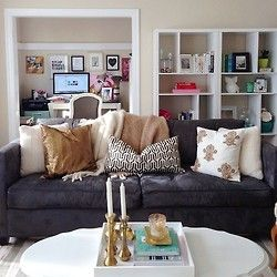 1000 ideas about charcoal living rooms on pinterest ashleys furniture charcoal sofa and for Charcoal and brown living room
