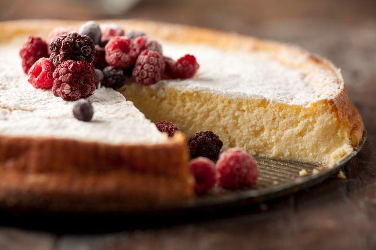 Torta soufflé de ricota