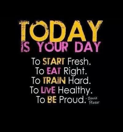 High Quality Today Is Your Day Quotes Quote Fitness Workout Motivation Proud Healthy  Exercise Motivate Fitness Quote Fitness Quotes Workout Quote Workout Quotes  Exercise ...