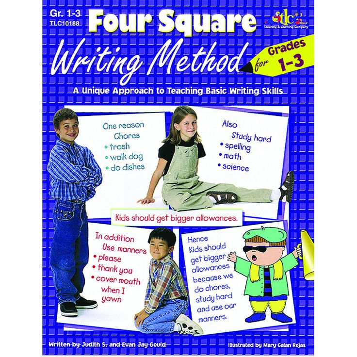 Teach writing skills using this innovative new approach that has been proven to work in classrooms just like yours. The Four Square (4 Square Writing) method can be used with all forms of writing and                                                                                                                                                                                  More