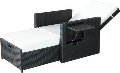 Gartenfreude Liege Polyrattan Liege mit Aluminiumgestell Jetzt bestellen unter: https://moebel.ladendirekt.de/garten/gartenmoebel/gartenliegen/?uid=a5b05b47-4340-5ae2-be2c-89b6a9eb9f5f&utm_source=pinterest&utm_medium=pin&utm_campaign=boards #gartenliegen #garten #gartenmoebel