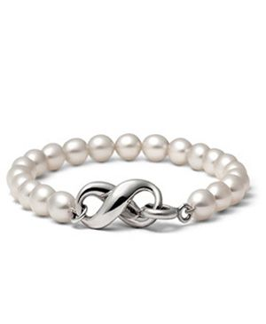 Tiffany And Co Cultured Freshwater Pearl Bracelet $38.95 Bridesmaid gift