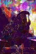 "New artwork for sale! - "" Macaw Parrot Scarlet Bird Red  by PixBreak Art "" - http://ift.tt/2h2haib"
