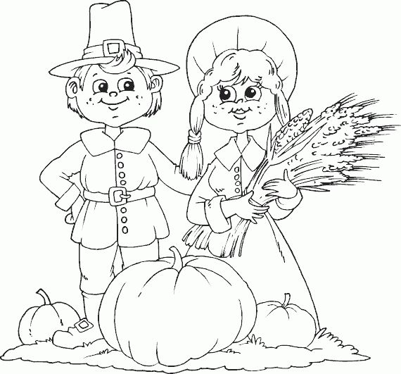 Harvest Coloring Pages Printable