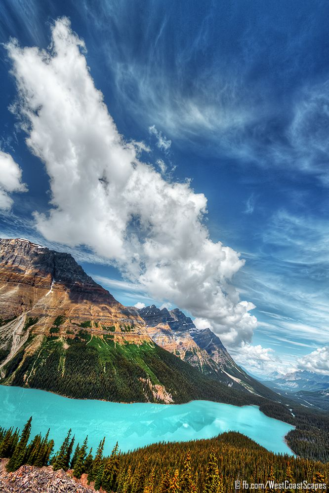 ✯ Peyto Lake, Banff National Park, Alberta, Canada