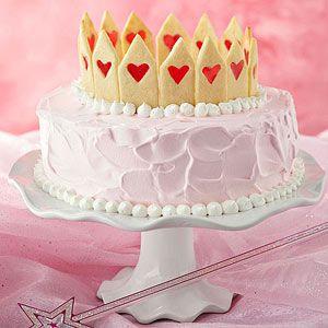 My Little Crown Cake