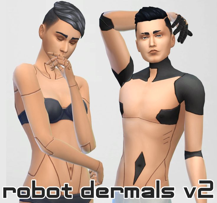 Images of Robot Skin Sims 4 - #rock-cafe