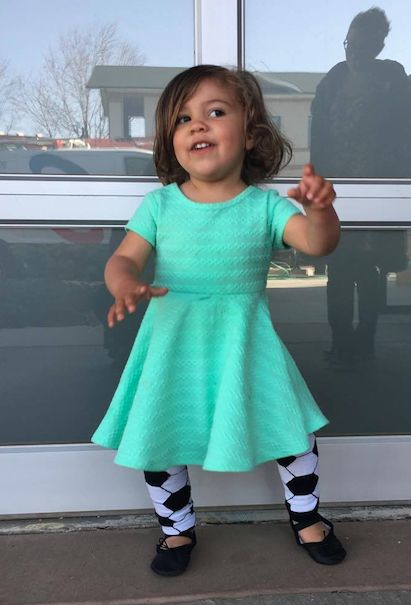 Soccer leg warmers can be worn by babies learning to crawl, on the soccer field or with your favorite dress!    Fits size 6 months to 5 years!  #TheRuffledBum