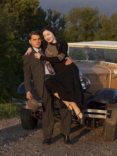 Bonnie and Clyde (2013) Emile Hirsch and Holliday Grainger