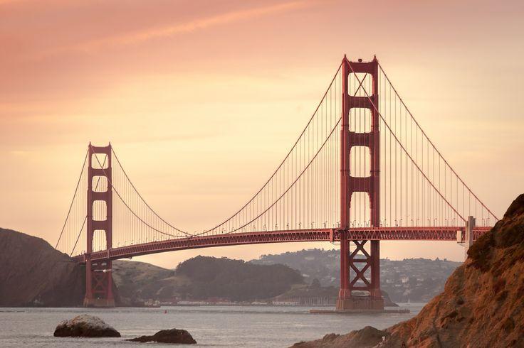 Golden Gate Bridge #San #Francisco #SanFrancisco #Golden #Gate #Bridge #GoldenGate #Red #Röd #Amerika #USA #Travel #Resa #Kalifornien #California