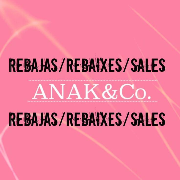 EMPIEZAN NUESTRAS REBAJAS !!! Del 7 de enero hasta el 27 de febrero. Anakcomplements.blogspot.com
