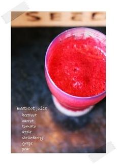 「ビートルートジュース」レシピ|みんなの朝ごはん・朝食レシピ:朝時間.jp
