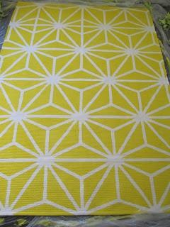 geometrischer Teppich zum selber machen