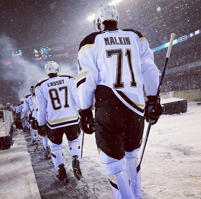 Sidney Crosby Evgeni Malkin, 2014 Winter Classic | Hockey ...