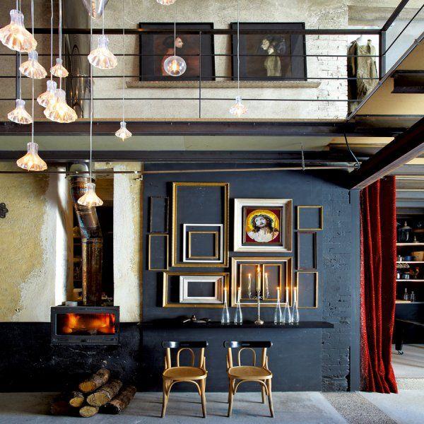 Un salon gris mystique - Marie Claire Maison