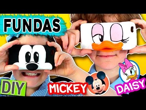 FUNDA DE MICKEY MOUSE DIY - FUNDAS CASERAS DISNEY - VICTOR VIC - YouTube