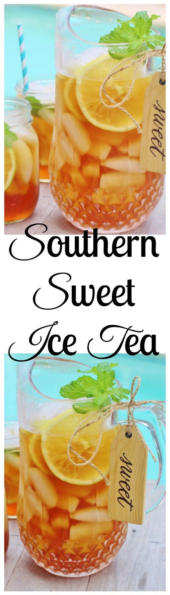 Southern Sweet Ice Tea. Tips for brewing a perfect pitcher of the table wine of the South.