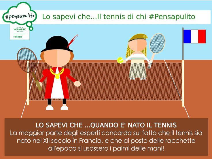 #PensaPulito e' un progetto lanciato ad aprile 2014 volto a promuovere valori positivi quali l'amicizia, la solidarietà e l'amore per l'ambiente.  Il progetto ha promosso diverse attività sportive a partire da calcio, rugby, basket in carrozzina e ora Tennis! Per gli internazionali Bnl di Tennis Il team #pensapulito sarà a Roma al Foro Italico fino al 15 maggio. Ricordati,chi #PensaPulito, Vive Pulito !!! Vai qui e scopri di più: http://l12.eu/pensapulitotennis2-670-au/2QOA085MUNHLO2W9S8Z3