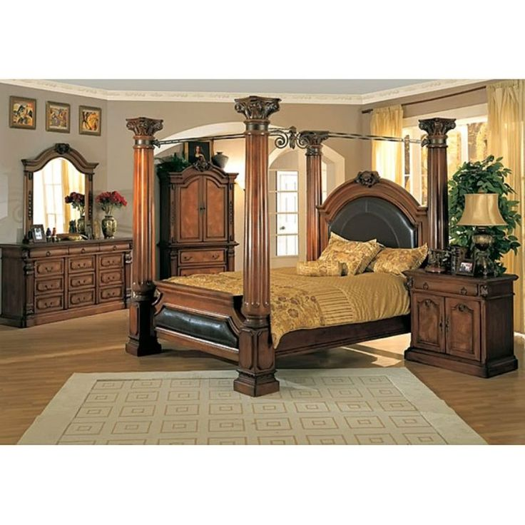 King Size Canopy Bedroom Sets