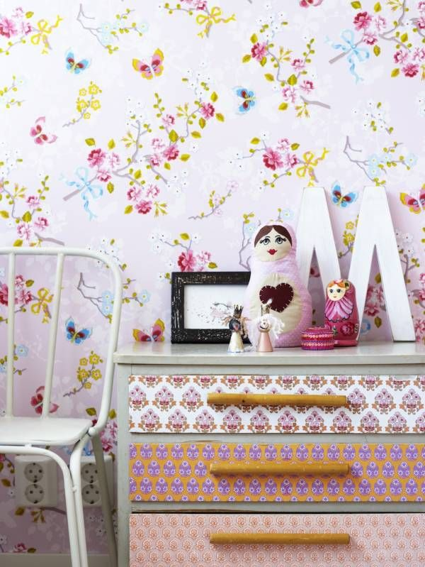 pretty wallpapers here at www.justkidswallpaper.com #kidsrooms #kidswallpaper